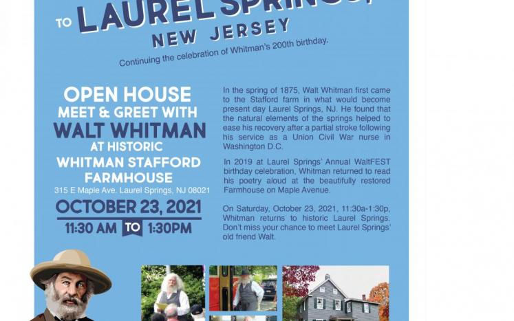 Walt Whitman Returns